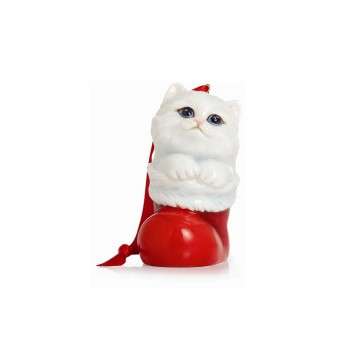 PENDAGLIO GATTINO HOLIDAY GREETINGS FRANZ PORCELAIN
