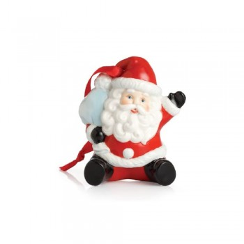 PENDAGLIO BABBO NATALE HOLIDAY GREETINGS FRANZ PORCELAIN