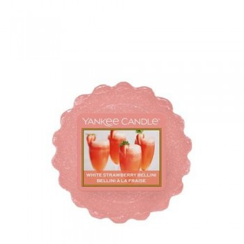 TART DA FONDERE WHITE STRAWBERRY BELLINI YANKEE CANDLE