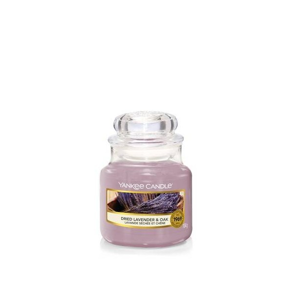 CANDELA GIARA PICCOLA DRIED LAVENDER & OAK