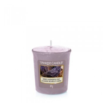 CANDELA SAMPLER DRIED LAVENDER & OAK YANKEE CANDLE