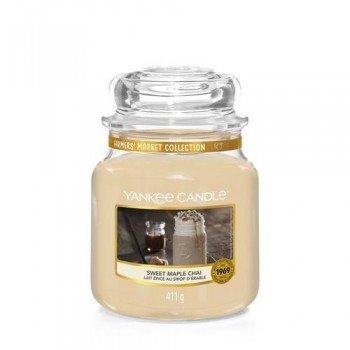 CANDELA GIARA MEDIA SWEET MAPLE CHAI YANKEE CANDLE