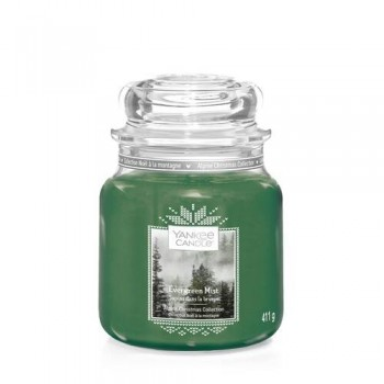 CANDELA GIARA MEDIA EVERGREEN MIST YANKEE CANDLE