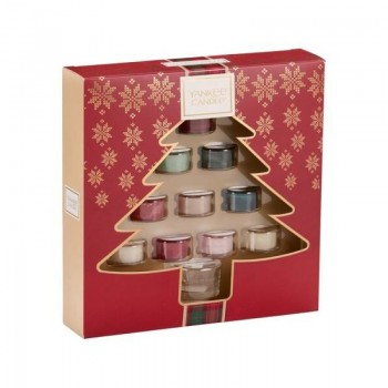CONFEZIONE REGALO 10 TEA LIGHT CON PARALUME YANKEE YANKEE CANDLE