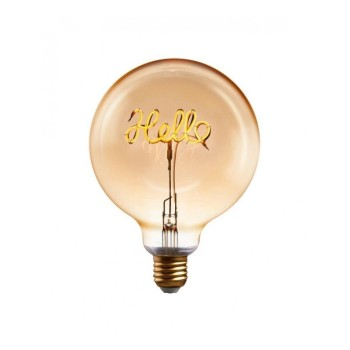 LAMPADINA A LED CON FILAMENTO HELLO PUSHER