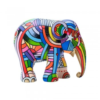 STATUINA PEACE LOVE & MUSIC 20CM ELEPHANT PARADE