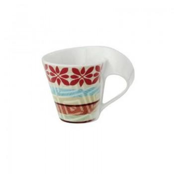 TAZZA CAFFE CON PIATTINO NEW WAVE OKAVANGO VILLEROY & BOCH