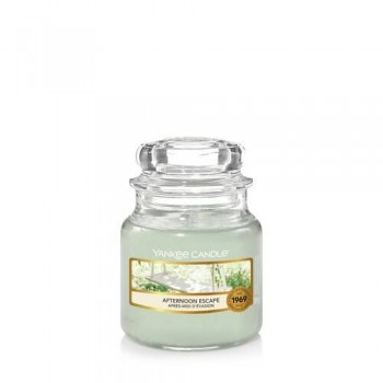 CANDELA GIARA PICCOLA AFTERNOON ESCAPE YANKEE CANDLE
