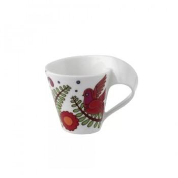 TAZZA CAFFE CON PIATTINO NEW WAVE ACAPULCO VILLEROY & BOCH
