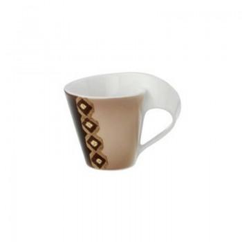 TAZZA CAFFE CON PIATTINO NEW WAVE AMBOSELI VILLEROY & BOCH