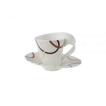TAZZA CAFFE CON PIATTINO NEW WAVE ETHNO VILLEROY & BOCH