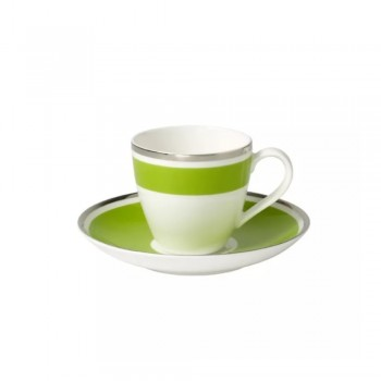 TAZZA CAFFE CON PIATTINO ANMUT MY COLOR FOREST GR VILLEROY & BOCH