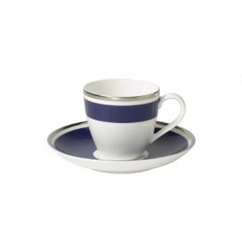 TAZZE CAFFE CON PIATTINO ANMUT MY COLOR OCEAN VILLEROY & BOCH