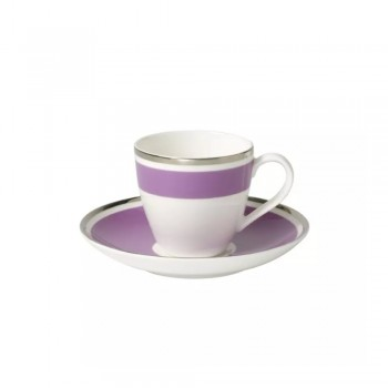 TAZZA CAFFE CON PIATTINO ANMUT MY COLOR PINK ROSE VILLEROY & BOCH
