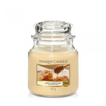 CANDELA GIARA MEDIA SWEET HONEYCOMB YANKEE CANDLE