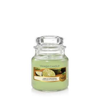 CANDELA GIARA PICCOLA LIME AND CORIANDER YANKEE CANDLE
