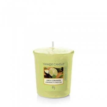 CANDELA SAMPLER LIME AND CORIANDER YANKEE CANDLE