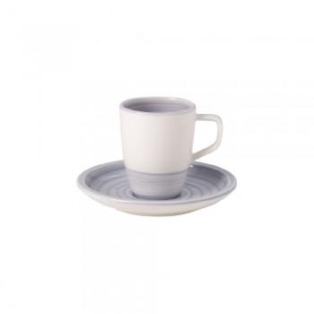 SET 2 TAZZE CAFFÈ ARTESANO NATURE BLEU VILLEROY & BOCH