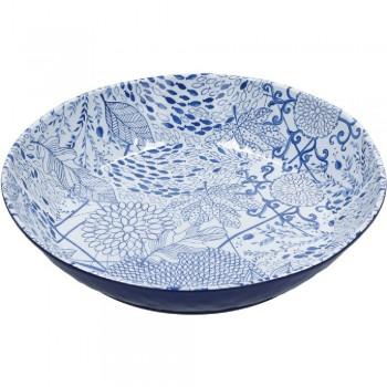 SPAGHETTIERA MELANINA BLUE-WHITE 37 CM ROSE&TULIPANI