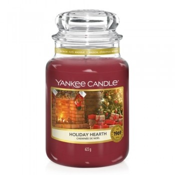 CANDELA GIARA GRANDE HOLIDAY HEARTH YANKEE CANDLE