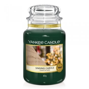 CANDELA GIARA GRANDE SINGING CAROLS YANKEE CANDLE