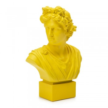 BUSTO GIALLO APOLLO 35 CM PALAIS ROYAL