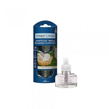 RICARICHE SCENT PLUG CLEAN COTTON YANKEE CANDLE